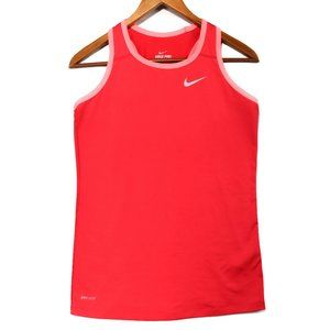 Nike Pro Fitted  Women's Pink Athletic Tank Top